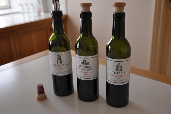 红酒瓶子的素描步骤图
